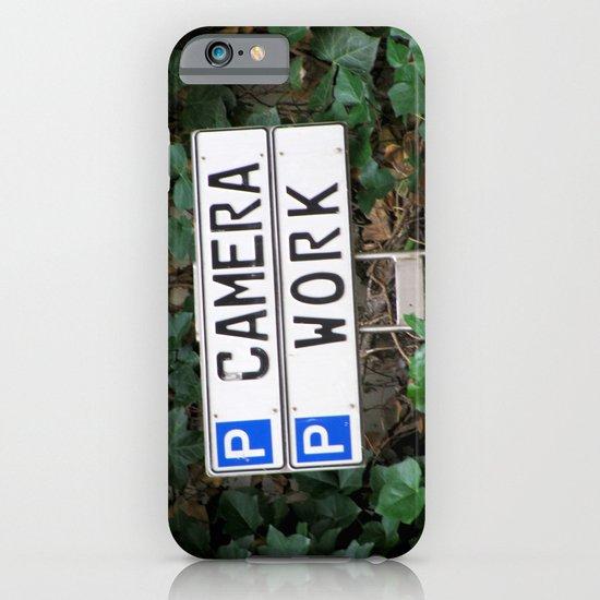 Camera work iPhone & iPod Case