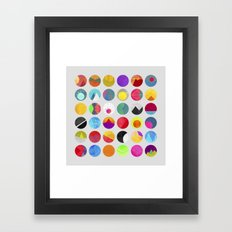 Dots - I Framed Art Print