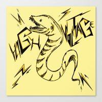 Eel Power Canvas Print