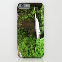 Feather In Green iPhone 6 Slim Case