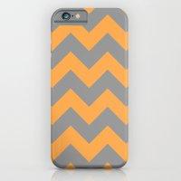 Chevron Orange iPhone 6 Slim Case