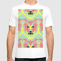 The Pack of Modular Wolves Mens Fitted Tee White SMALL