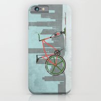 Urban Winter Cycling iPhone 6 Slim Case