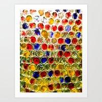 Bubble Light Art Print