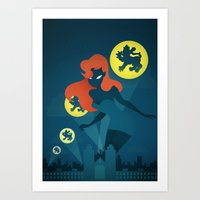 Night Stalker Art Print