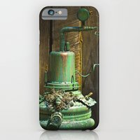 iPhone & iPod Case featuring Organic Machine of Time by mark jones