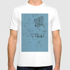 USELESS POSTER 18 White Mens Fitted Tee SMALL