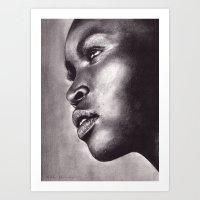 Light In Her Eyes  Art Print