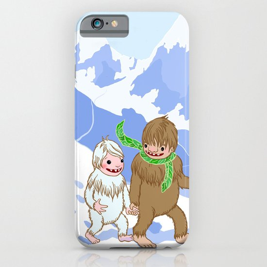 Snow Day! iPhone & iPod Case