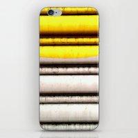 SPLASH - YELLOW iPhone & iPod Skin