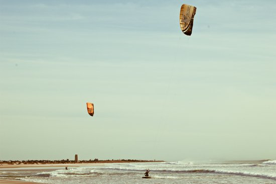 Kite surf  Art Print