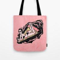 Floating Girl III Tote Bag