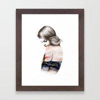 Interlude // Illustratio… Framed Art Print