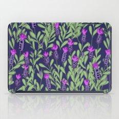 April blooms(Lavender_blue) iPad Case