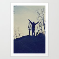 Free Yourself Art Print