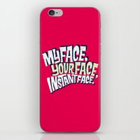 MyFace, YourFace, Instan… iPhone & iPod Skin