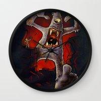 Monster! Wall Clock