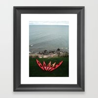 The View That Day Framed Art Print