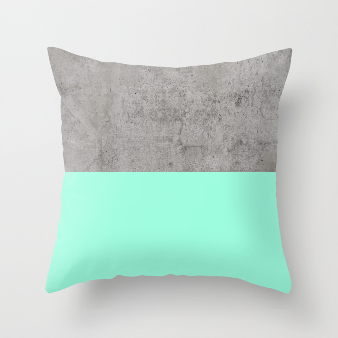 Popular Throw Pillows In Collage Society6