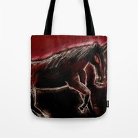 Phantom horse Tote Bag