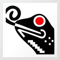 Zelonicus Frog Art Print