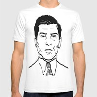 Charles 'Lucky' Luciano Mens Fitted Tee White SMALL