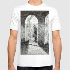 Fingerprint - Arcades Mens Fitted Tee SMALL White