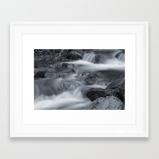 Silk II Framed Art Print