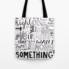 Something About Us Tote Bag