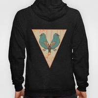 CATS AND BIRDS Hoody