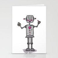 Robot Stationery Cards