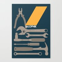 Drive - Jalopnik on Drive Canvas Print