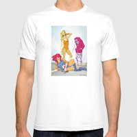 Thundara Apparel Mens Fitted Tee White SMALL