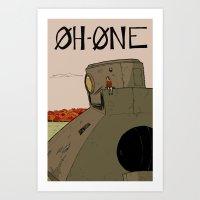 OhOne COLOR Art Print