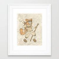 Young Explorer Framed Art Print