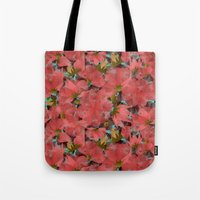 Translucent Floral Tote Bag