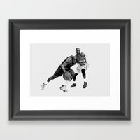 LeBron James Framed Art Print