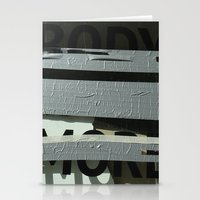 Urban Abstract 101 Stationery Cards
