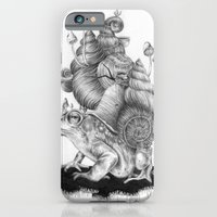 iPhone & iPod Case featuring Mr. Toad by Anna Tromop Illustration