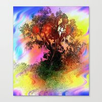 Tree Of Fantasy Canvas Print