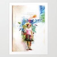 Take-Me-Up Art Print
