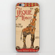 Robot Circus - Giraffe iPhone & iPod Skin