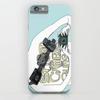 Shoot with cameras not guns iPhone 6 Slim Case