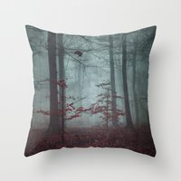 Here Comes The FeaR Throw Pillow