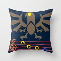 Bioshock Infinite: Song … Throw Pillow
