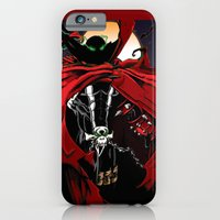 iPhone & iPod Case featuring Spawn by Shawn Norton Art