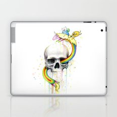 Adventure through Time and Face Laptop & iPad Skin