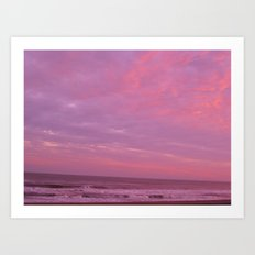 Galveston II Art Print