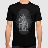 All to Him I owe Mens Fitted Tee Black SMALL