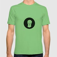 Communication misleading Mens Fitted Tee Grass SMALL